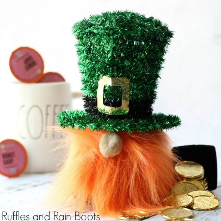 Leprechaun Gnome for St Patricks Day Decor