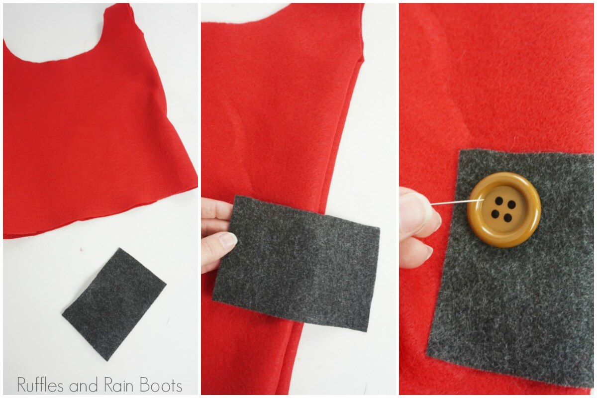 photo tutorial of how to make a gnome costume