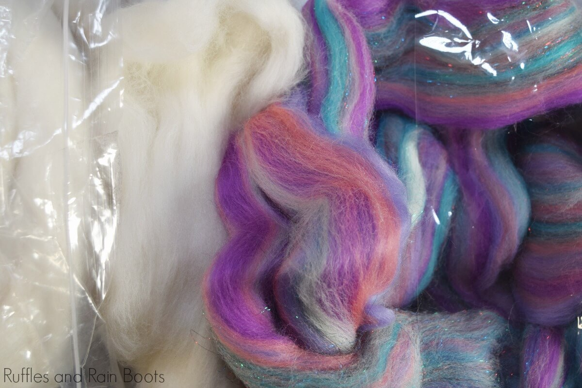 wool for gnome beards and gnome braids
