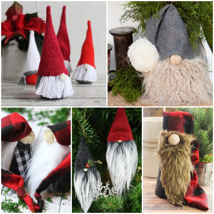 tips for making diy holiday gnomes