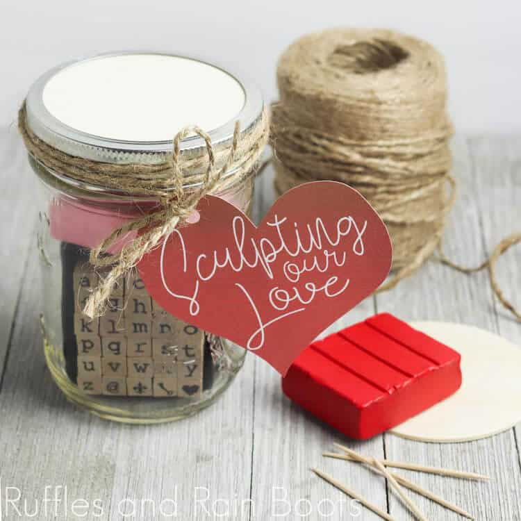 Sculpting Date Night in a Jar for a Romantic Evening