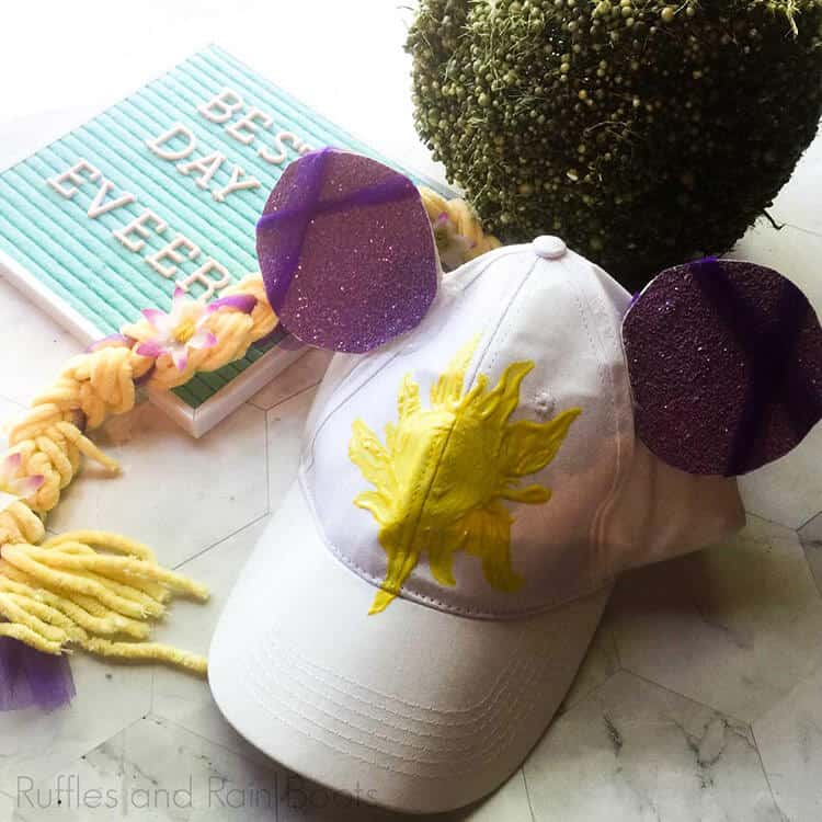 Whip Up a Rapunzel Minnie Ears Hat to Protect Little Faces