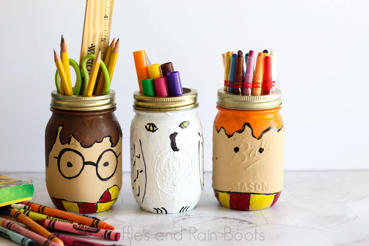 These Harry Potter Mason Jars Are A Fun Craft For Any Age