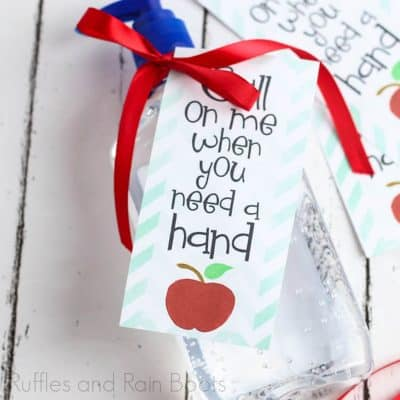 Use This Hand Sanitizer Printable for a 5-Minute Back to School Gift