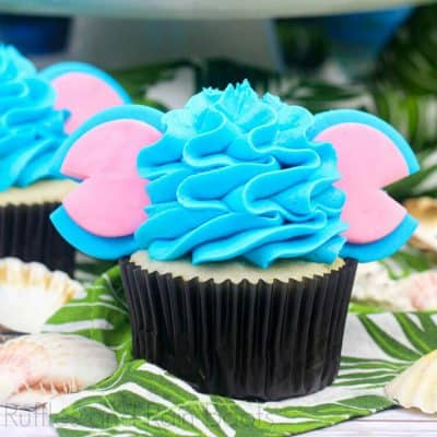 Amazing Stitch Cupcakes for a Lilo and Stitch Fan