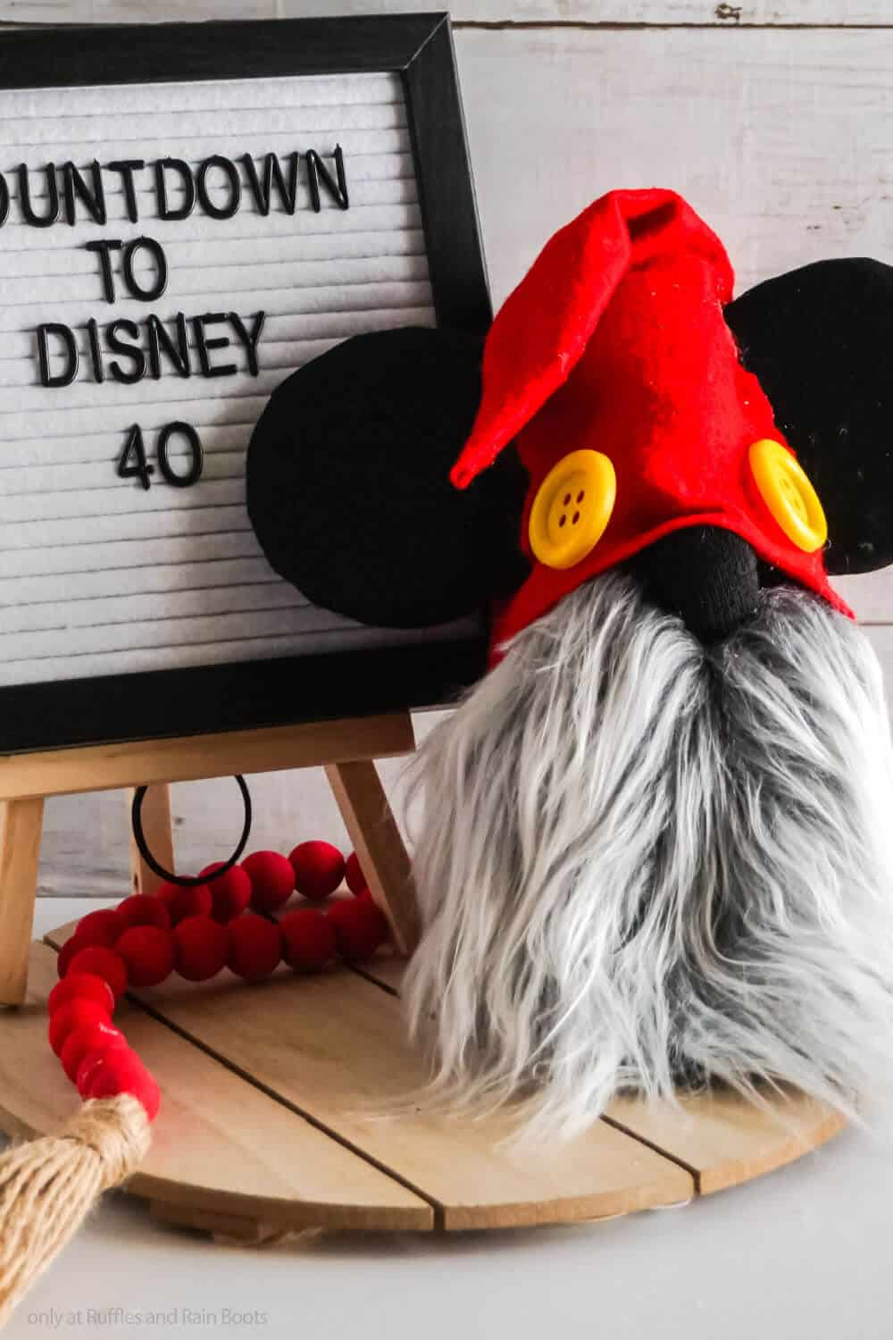 easy diy mickey mouse gnome