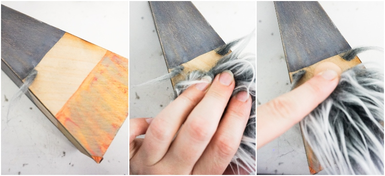 photo tutorial of how to make wooden gnomes