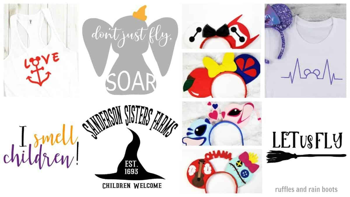 Download Free Disney SVG Files on Ruffles and Rain Boots