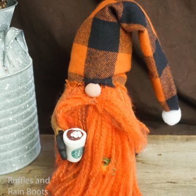 This Pumpkin Spice Gnome is the Most Fall Gnome Ever!