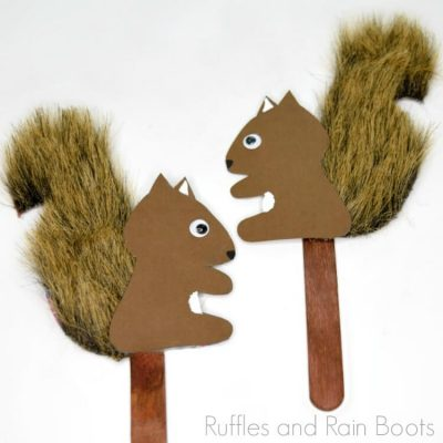 DIY Squirrel Puppet Tutorial – Adorable and Done in Just Minutes!