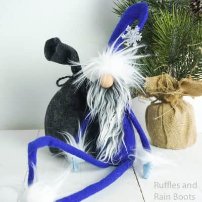 This Adorable Jack Frost Gnome is a Perfect Winter Tomte