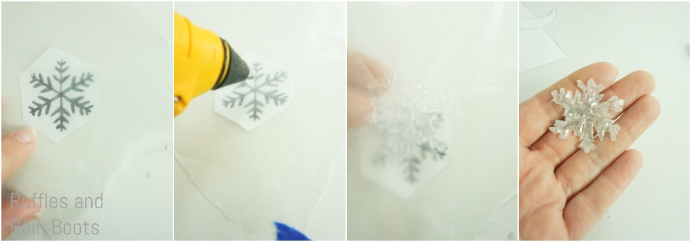 photo collage tutorial of how to make a winter tomte