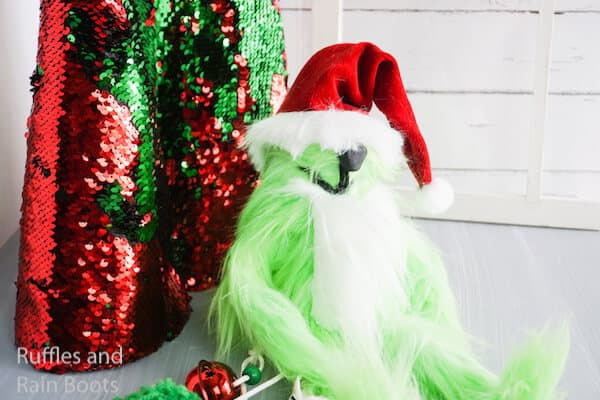 how to make a grinch gnome for christmas