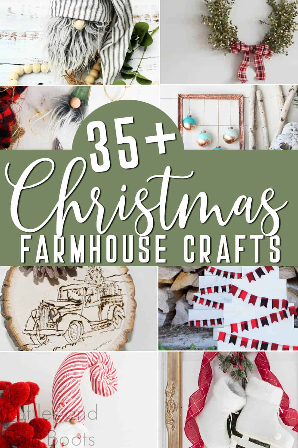 Diy Farmhouse Christmas Crafts And Gift Ideas You Can Make