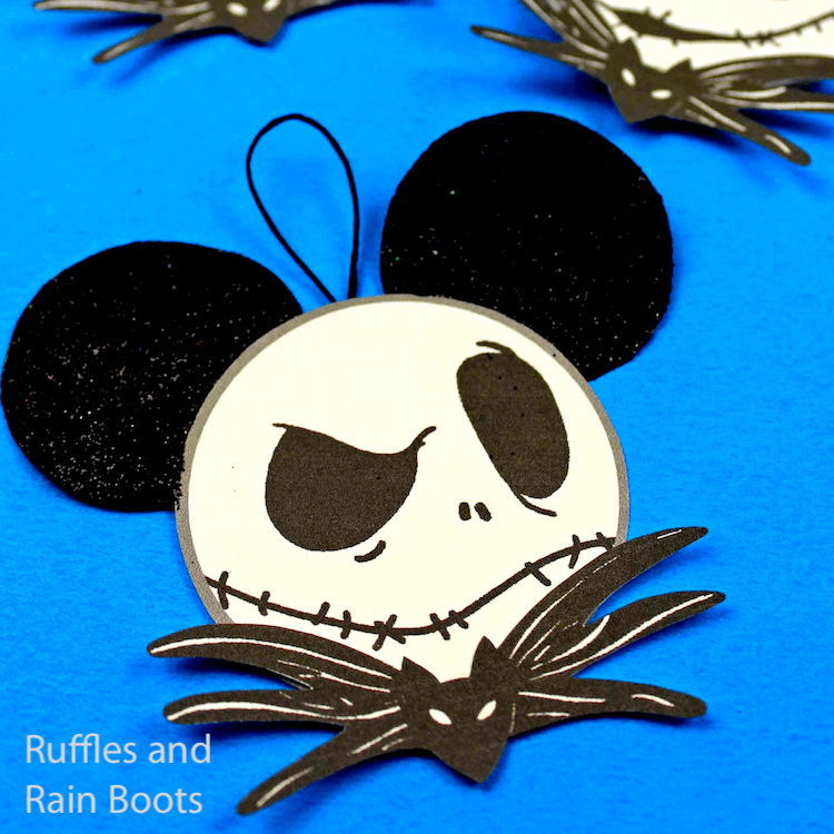 Make Jack Skellington Ornaments 2 Ways
