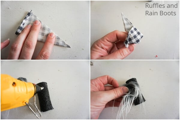 how to make a gnome mitten christmas ornament