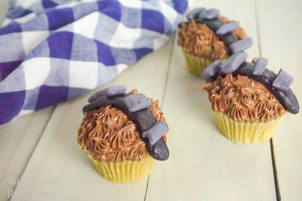 how to make chewie cupcakes from star wars
