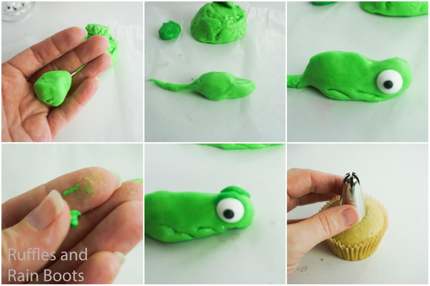 how to make rapuzel cupcakes for a tangled party