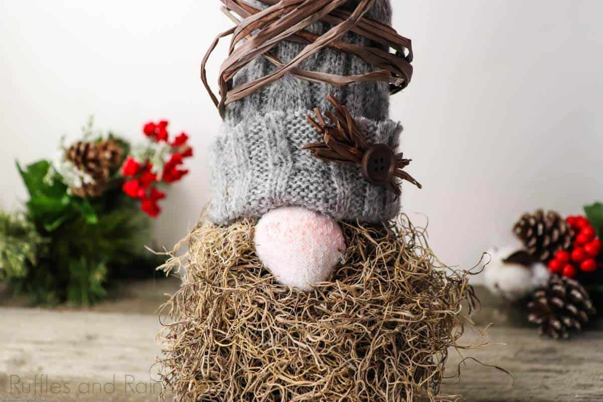Woodland Gnome Tutorial with Sock Gnome Body