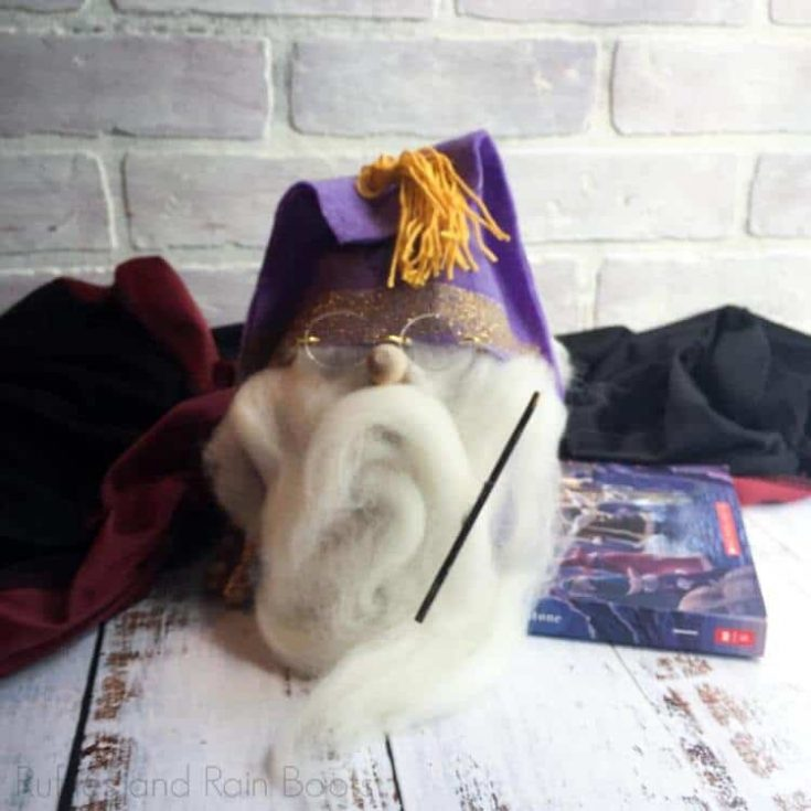 easy wizard gnome for harry potter