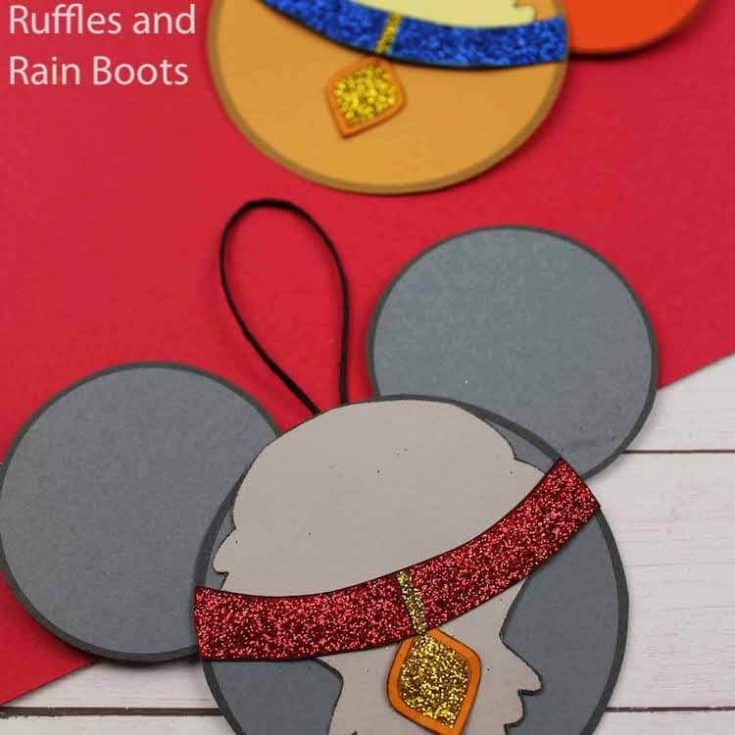 how to make lady and the tramp christmas ornaments