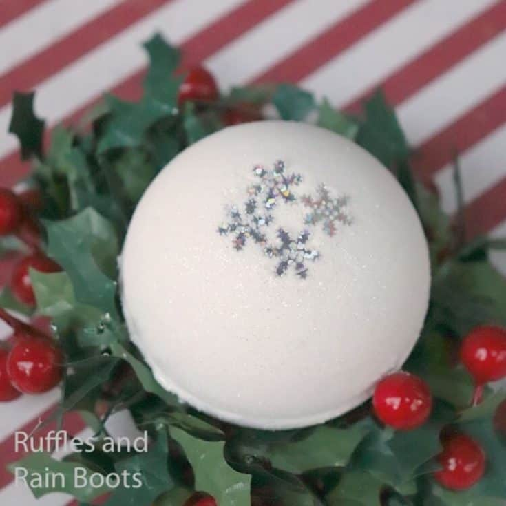 how to make snowball bath bombs for gifts