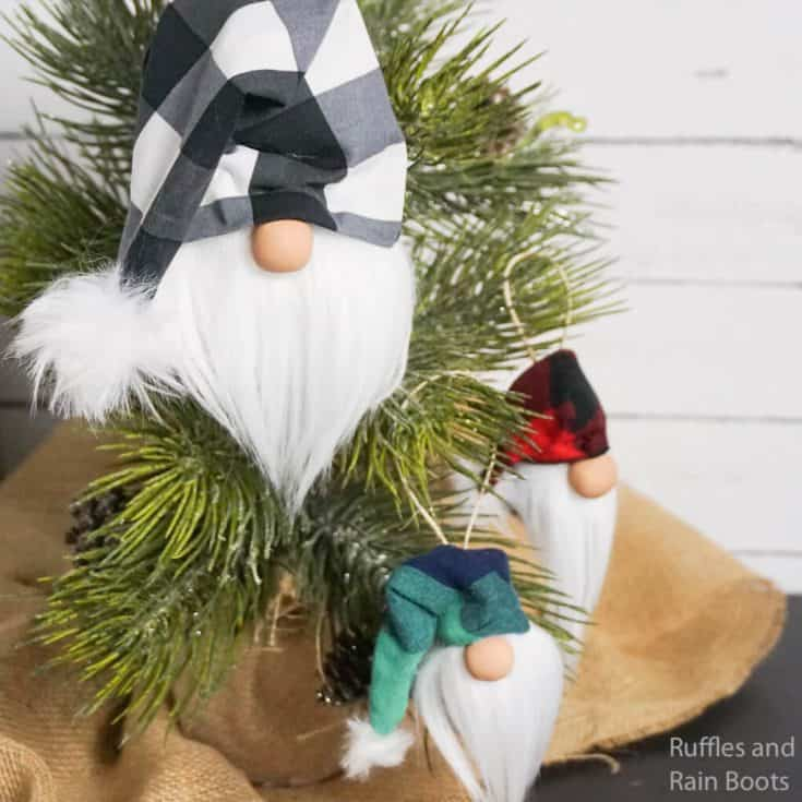 how to make a tomte ornament for christmas