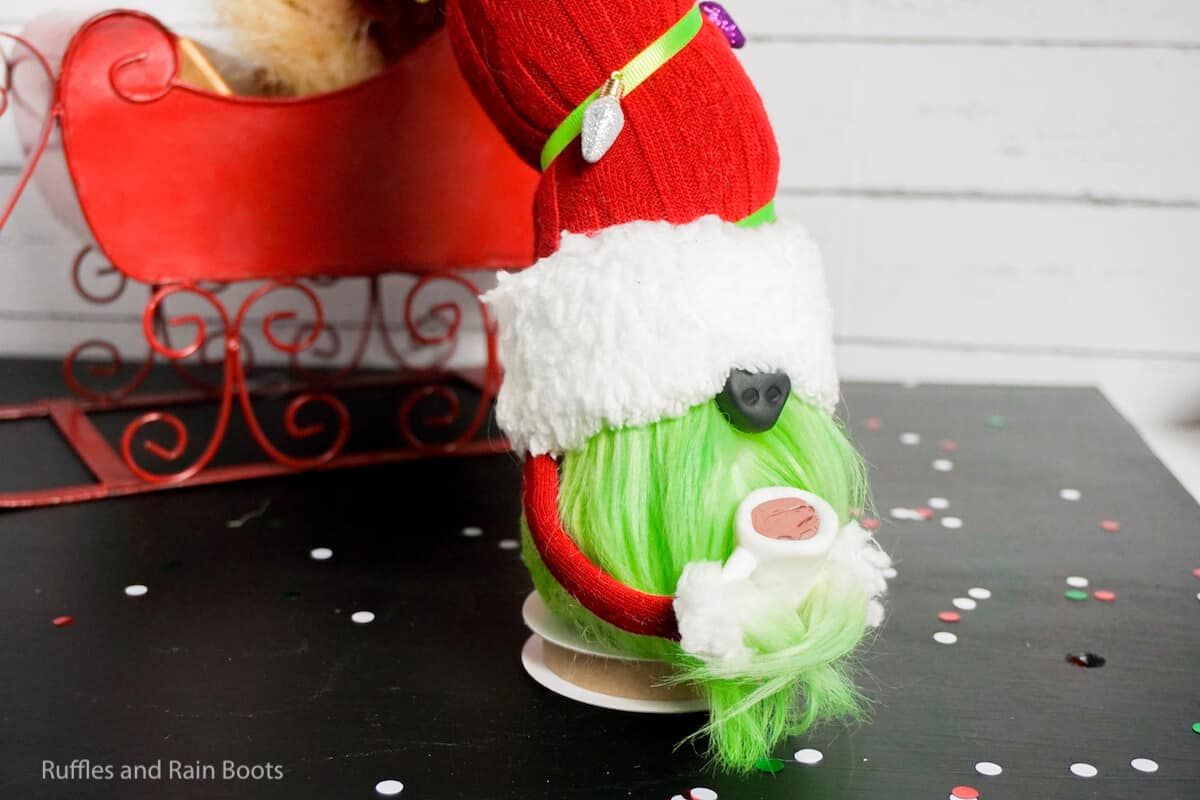 how to make a grinch movie gnome