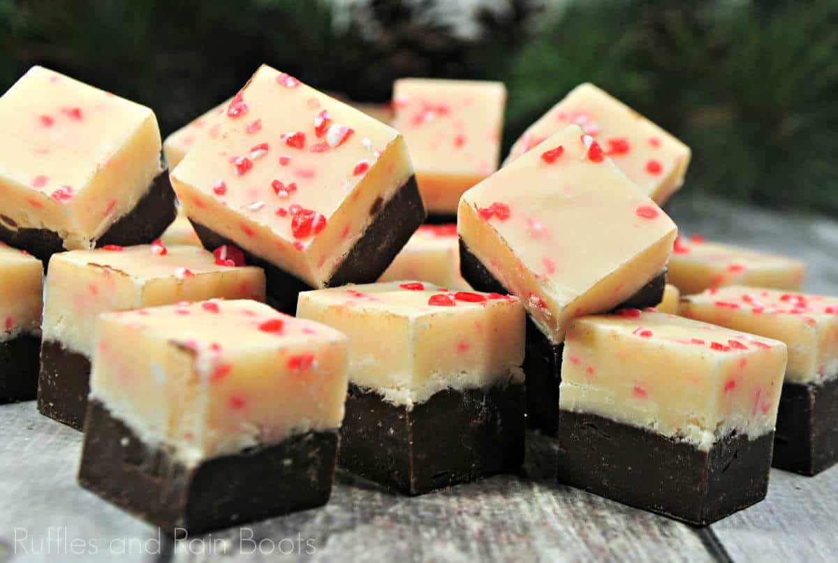 how to make fudge with peppermint