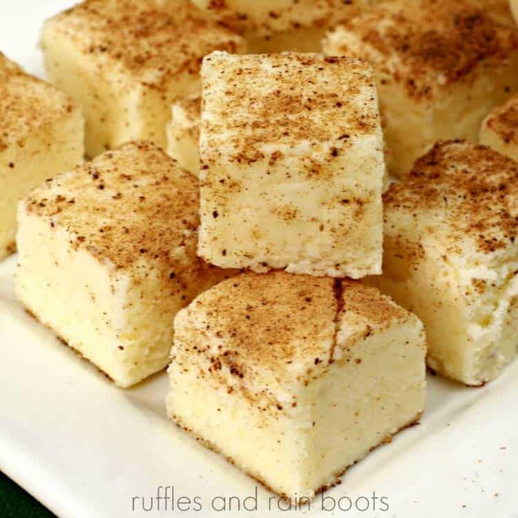 Easy Egg Nog Fudge Recipe S