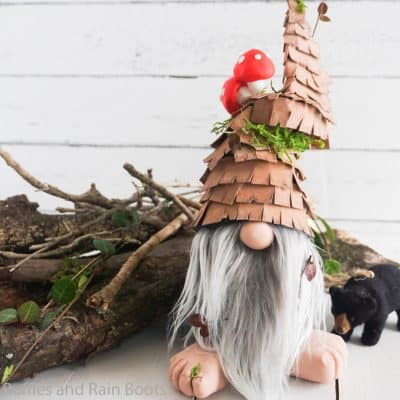 How to Make a Rustic Gnome – DIY Forest Gnome Tutorial
