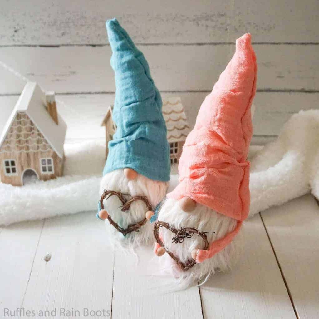 how to make a pointy hat gnome