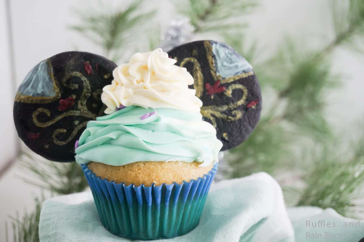 how to make frozen's princess anna cupcakes