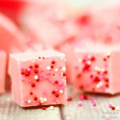 This Pink Lemonade Fudge is Easy and Insanely Yummy!