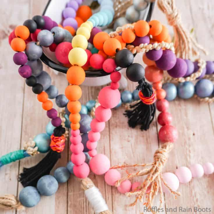 how to paint farmhouse beads