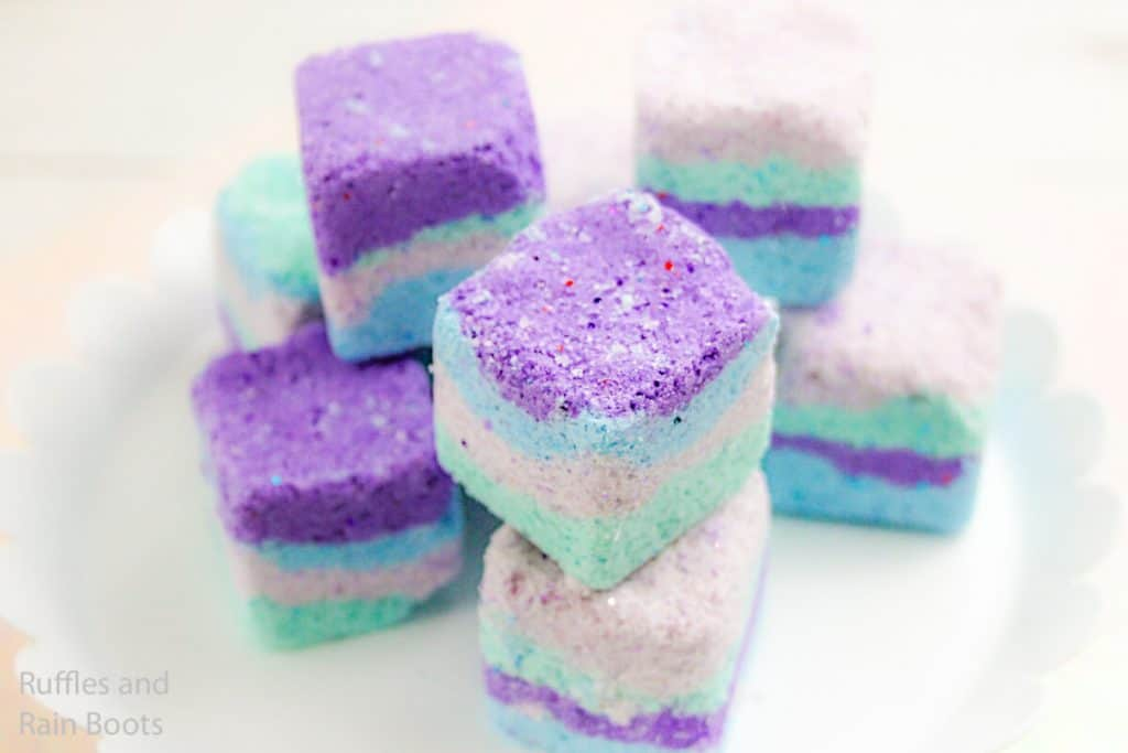 recipe for mermaid bath fizzies