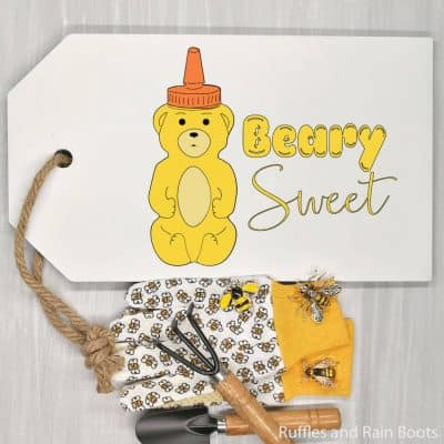 This Sweet Honey Bear SVG Set is Perfect for Summer Crafts!