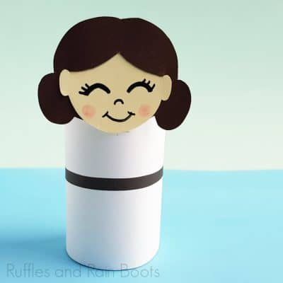 This Princess Leia Paper Doll is the Galaxy's Best Star Wars Craft