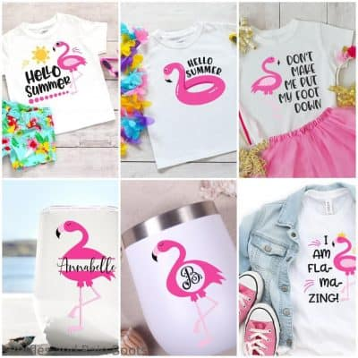 This Adorable Flamingo SVG Set is the Best Summer Digital Fun!