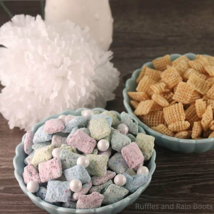 easy recipe for mermaid puppy chow