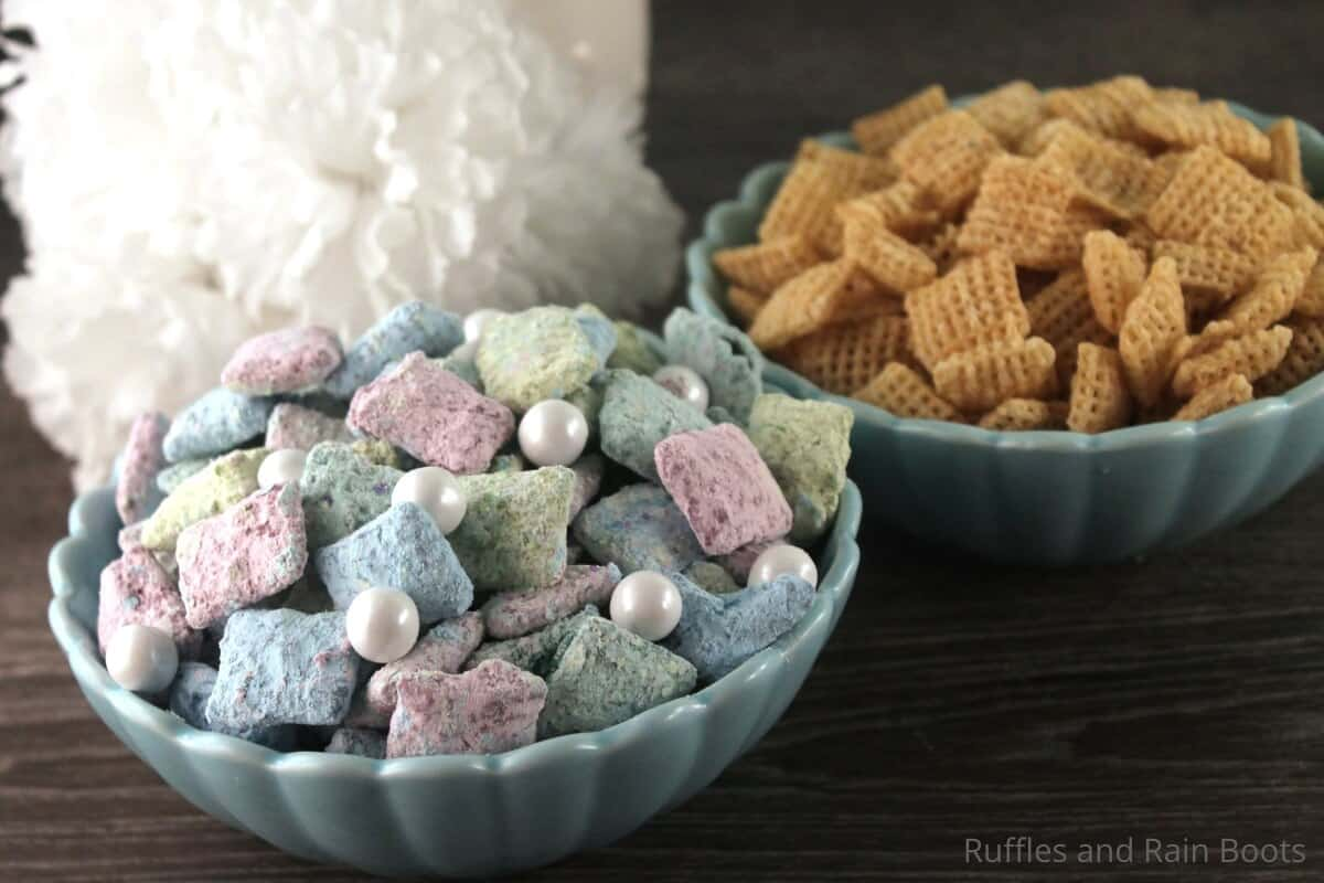 easy recipe for mermaid puppy chow kids can make