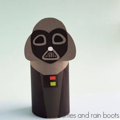 A Darth Vader Paper Doll Is the Best Star Wars Craft of the Dark Side!