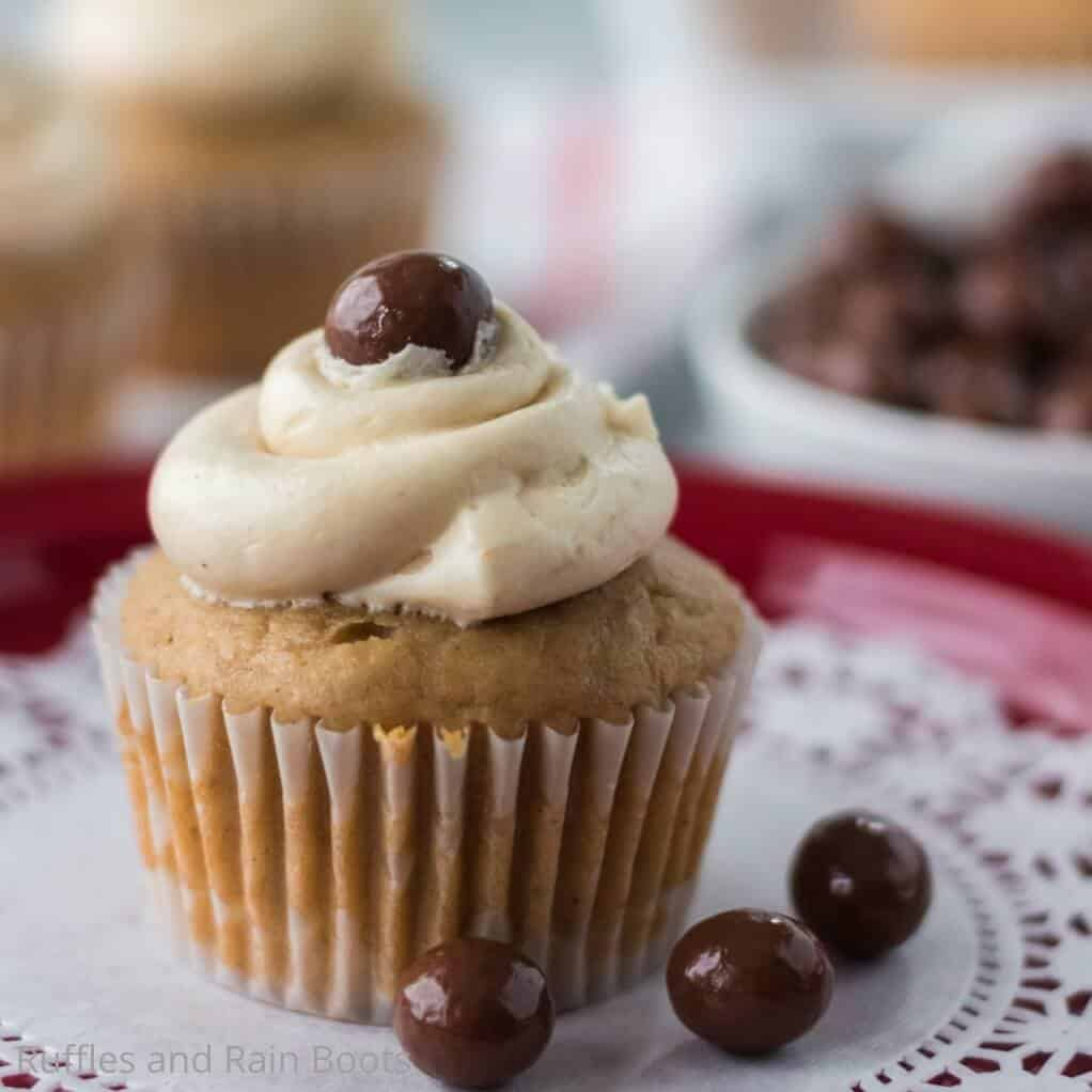 easy recipe for cappuccino flavored cupcakes