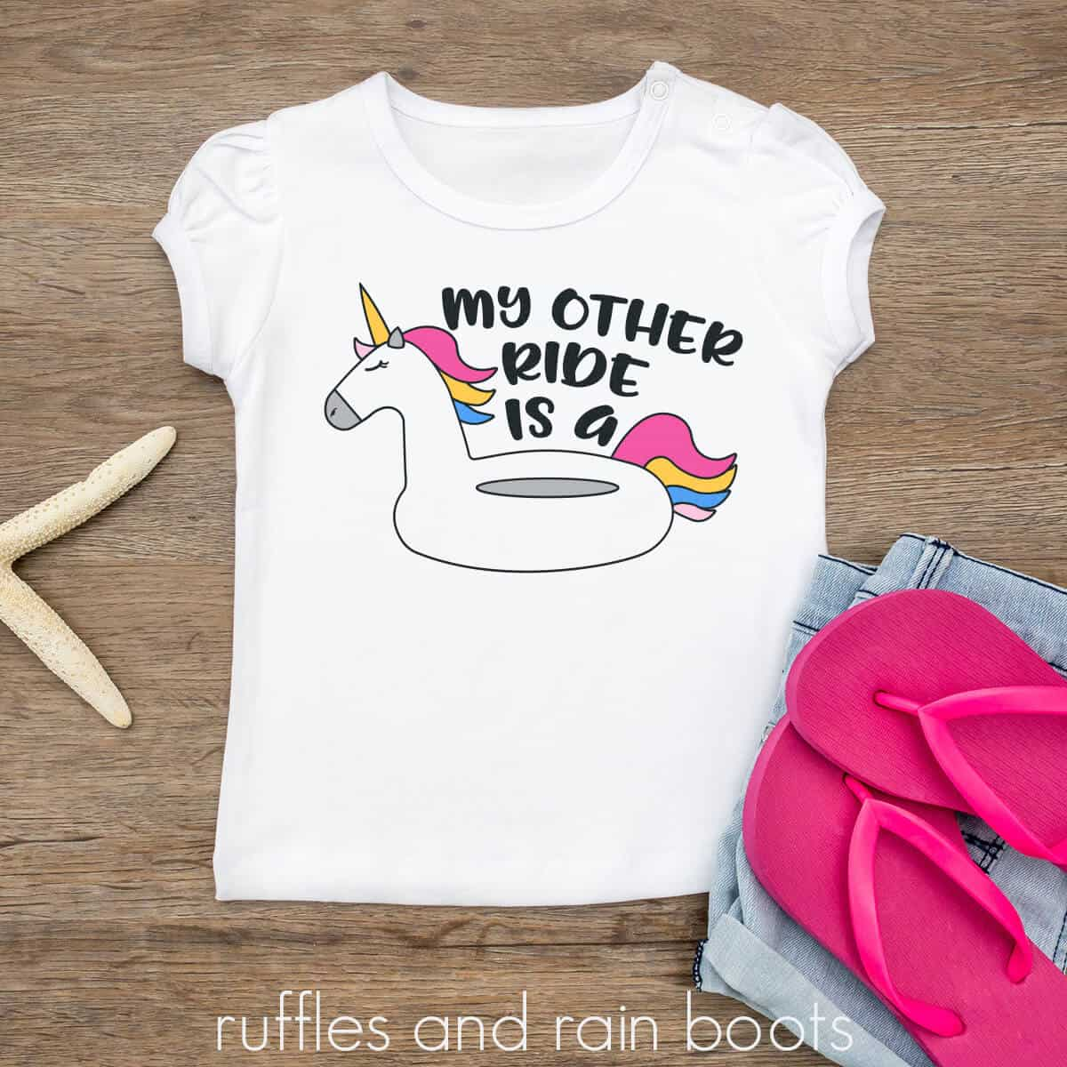 My Other Ride is a Unicorn Float Summer SVG