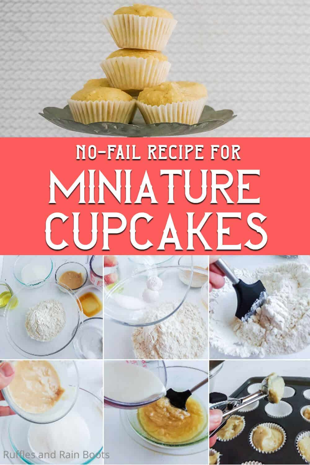 Make A Batch Of No Fail Mini Cupcakes For Mini Treats And Fun