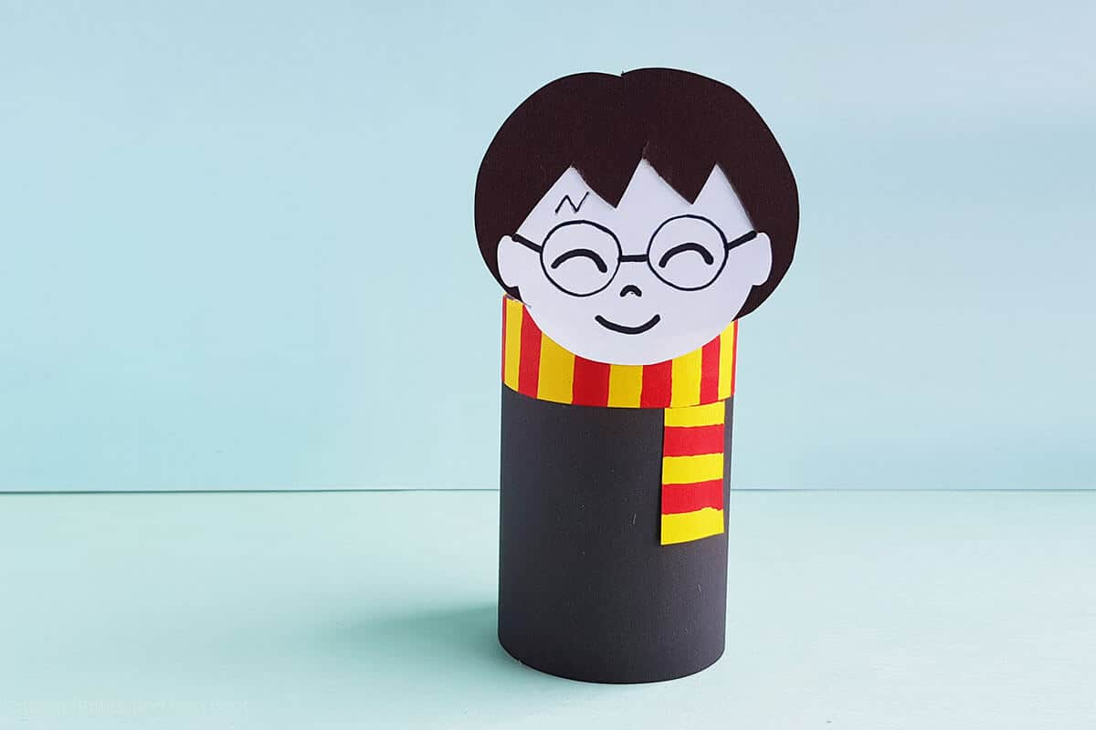 harry potter kids craft paper doll