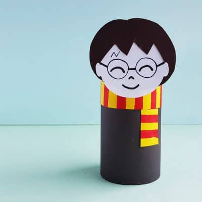 This Harry Potter Paper Roll Craft is a Perfect Boredom Buster!