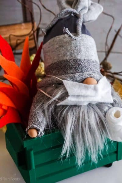 easy sock gnome in a dumpster 2020 mascot