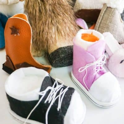 10 Gnome Boot and Shoe Patterns in 1 for Any Gnome, Tomte or Nisse!