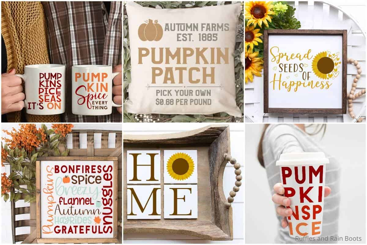 Fall Svg Files For Cricut And Silhouette